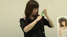 pound66:  新垣里沙からのお知らせ!!その1 - YouTube