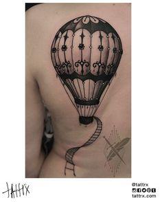 Kid-Kros Tattoo | Split Croatia - Hot Air Balloon
