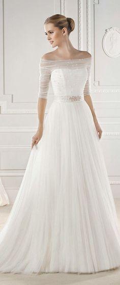 Simple Wedding Dresses with Delightful Elegance