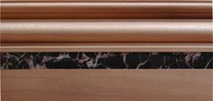 baseboard molding- Marron Imperial
