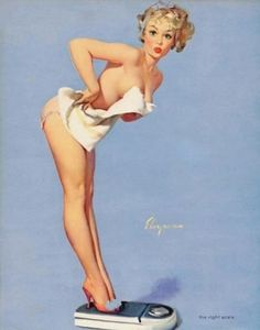 Gil Elvgren (March 1914 – February was an American painter of pin-up girls, advertising and illustration. He was one of the most important pin-up and glamour artists of the twentieth century. Pin Up Vintage, Retro Pin Up, 50s Pin Up, Vintage Modern, Gil Elvgren, Rockabilly, Rolf Armstrong, Pin Up Girls, Usa Girls