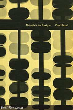 Thoughts on Design by Paul Rand