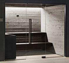 Finnish sauna SoulSauna Soul Collection By STARPOOL Natural Texture, Natural Wood, Modern Saunas, Building A Sauna, Finnish Sauna, Infrared Sauna, Simple Lines, Blinds, Spa