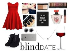 """BLIND DATE"" by dolphinlover18 ❤ liked on Polyvore featuring NYX, iittala, Incase, women's clothing, women, female, woman, misses and juniors"