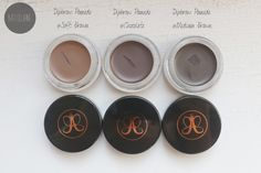 Anastasia Beverly Hills Dipbrow Pomade Swatches