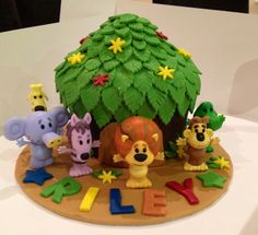 Raa Raa the lion cake made by me, visit Facebook.com/heartfeltbycharlie for more of my work.