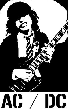Back in Blue Angus Bon Scott, Angus Young, Blue Ghost Rider, Airbrush, Funny Caricatures, Young Art, Rock And Roll Bands, Heavy Metal Bands, Black And White Drawing