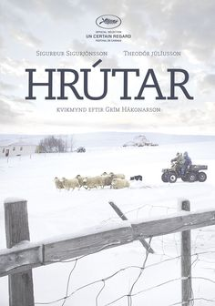 Official poster for the film 'Hrútar'