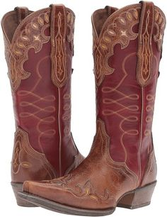 Ariat - Zealous Cowboy Boots. Cowboy boot fashions. I'm an affiliate marketer. When you click on a link or buy from the retailer, I earn a commission.
