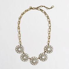 layered circle necklace / j.crew factory