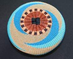 Waves by Twisted Spokes : Hand Woven Basket by TwistedSpokes
