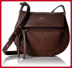 Vince Camuto Ayla Crossbody, Black Cherry - Crossbody bags (*Amazon Partner-Link)