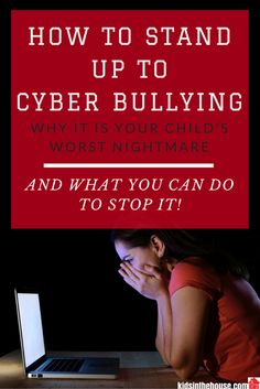 What Is Cyber Bullying? It's Your Child's Worst Nightmare. Learn the primary forms of cyber bullying & what you can do to stop the bullying. Bullying has moved off of the playgrounds & into cyberspace. Cyberbullying is a national epidemic and parents need to be aware of their child's involvement in it. Whether your child is a victim, bully, bystander, or ally, their greatest resource for advice is you. Kids in The House has compiled excellent resources & expert tips for parents to help…