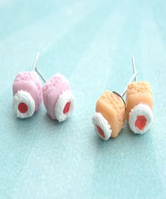 petit fours earrings