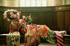 origamicupcake:  Mamechiyo kimono