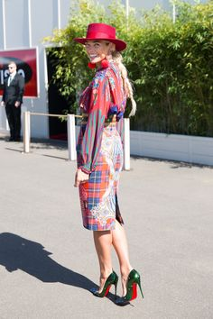 Style Wrap-Up: 2015 Emirates Melbourne Cup Day Jennifer Hawkins, Race Wear, Spring Racing, Melbourne Cup, Races Fashion, Sexy Legs And Heels, Royal Ascot, Street Style Women, Cool Outfits