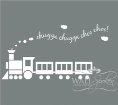 Trying to find non-cheesy train decor for Kaden's big boy room.