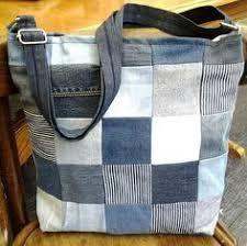 Резултат слика за patroon tas van spijkerbroek
