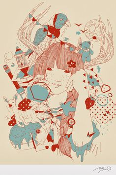 Toshihiro Mori 森 俊博. Pastel Wonderlands