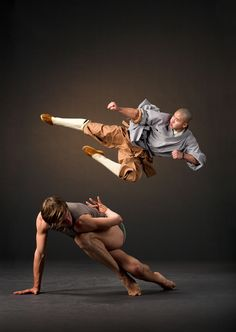"""Lines Ballet with the Shaolin Monks I always asked my dad if I could take ballet. He said I could take karate - """"...they're a lot alike."""""""