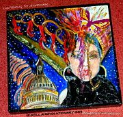 "After learning the US House of ""Representatives"" Chairmen are ALL that, men...I painted this political piece. Satya@GuideToTransformation.com Framed Prints, Canvas Prints, Create Awareness, Women Empowerment, My Arts, Greeting Cards, Tapestry, Learning, Illustration"