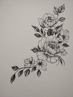 55 Simple Small Flowers Tattoos Drawing Tattoos Ideas For Women This Season flower tattoos Tattoos Flower Tattoo Drawings, Small Flower Tattoos, Small Tattoos, Drawing Tattoos, How To Draw Tattoos, Flower Tattoo Stencils, Watercolor Tattoos, Foot Tattoos, Cute Tattoos