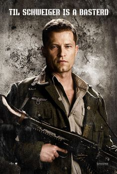 Inglourious Basterds , starring Brad Pitt, Diane Kruger, Eli Roth, Mélanie Laurent. In Nazi-occupied France during World War II, a plan to assassinate Nazi leaders by a group of Jewish U.S. soldiers coincides with a theatre owner's vengeful plans for the same. #Adventure #Drama #War