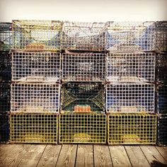 #pier #traps #lobstertraps  #lobster vacation