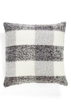 Nordstrom at Home 'Watercolor Plaid' Accent Pillow | Nordstrom