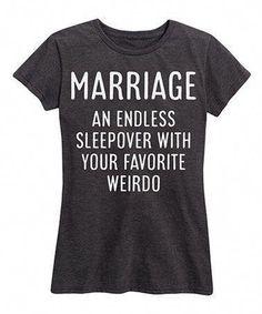 Marriage an Endless Sleepover Custom Shirt - Custom Treats