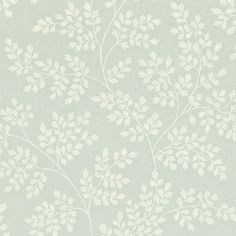 Sanderson Coralie DCAVCO101 (Eau de Nil-Ivory) wallpaper from the Caverley collection