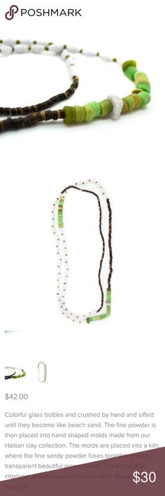 """The Kez Necklace The most gorgeous necklace made with lots of love. See photos. Can be worn layered or as one long loop. 50"""" all around. Never worn Jewelry Necklaces"""