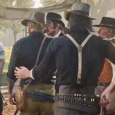 Okay so I was making other edits and I noticed this little tap John gives Arthur and it's so cute idk. Red Dead Redemption Game, John Marston, Read Dead, Rdr 2, Geek Art, Old West, Skyrim, Best Games, Memes