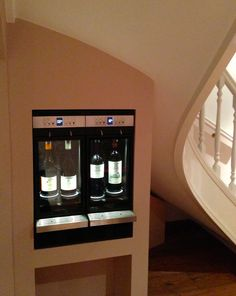 4 bottle wine dispenser private residence