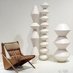 La Gardo Tackett garden sculptures and Neutra chair
