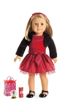 Joyful Jewels Outfit & Accessories for Dolls