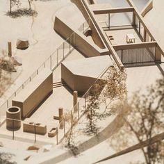 """nexttoparchitects: """"@chrofi_architects Lune De Sang Pavilion #architecture #building #sydney #architecturemodel #modelmaking 📷: @makemodels """""""