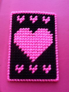 Heart Gift Card HolderValentines Day by TinetinesCreations on Etsy