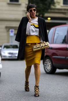 2015 Street Fashion | 66 Must-See Street Style Snaps from Milan Fashion Week
