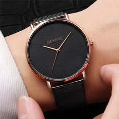 New Ultra-thin Women& Watch 2019 Lover& Watch Luxury Saat Rose Gold Mesh Stainless Steel Women& Watches Female Male Clock Stylish Watches, Casual Watches, Luxury Watches For Men, Cool Watches, Women's Watches, Cheap Watches, Watches Online, Wrist Watches, Ladies Watches