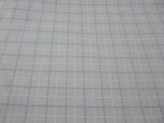 """Vintage Lite Blue & White Checked  Cotton Blend Fabric  45"""" x  2 Yards by Dockb30Crafts on Etsy"""
