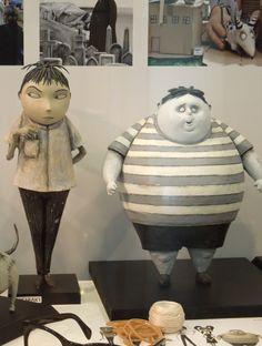 Frankenweenie Toshiaki and Bob puppets