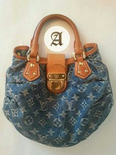 ddf480732d8c Pre owned Authenyic Louis vuitton Denim bag   1700aed Good condition Bag  only Contact   +