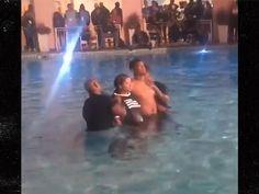 Jameis Winston -- Baptized with GF ... In Spiritual NFL Retreat (VIDEO)