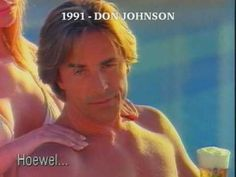 Bavaria (or Malt as it was called in the has a tradition of featuring Hollywood actors. This one features Don Johnson just after he finished his Mia. Lisa Lisa, Don Johnson, Miami Vice, Woody Allen, You Look Like, Hollywood Actor, Bavaria, Gorgeous Men, Sexy Men
