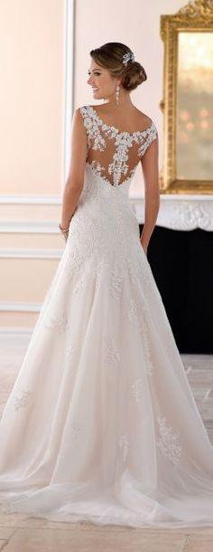 Wedding Dress by Stella York Spring 2017 Bridal Collection-6427B Stella York