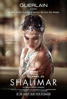 Natalia Vodianova for Guerlain Shalimar
