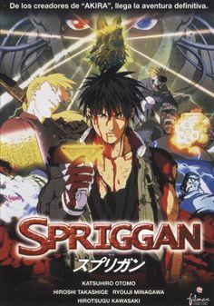 Spriggan (DVD ANIMACIÓ SPR)
