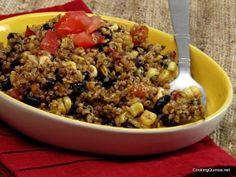 Quinoa Salad with Black Beans - Wendy Polisi