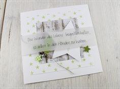 Carolas Bastelstübchen: Musterkarte Geburtsanzeige.................
